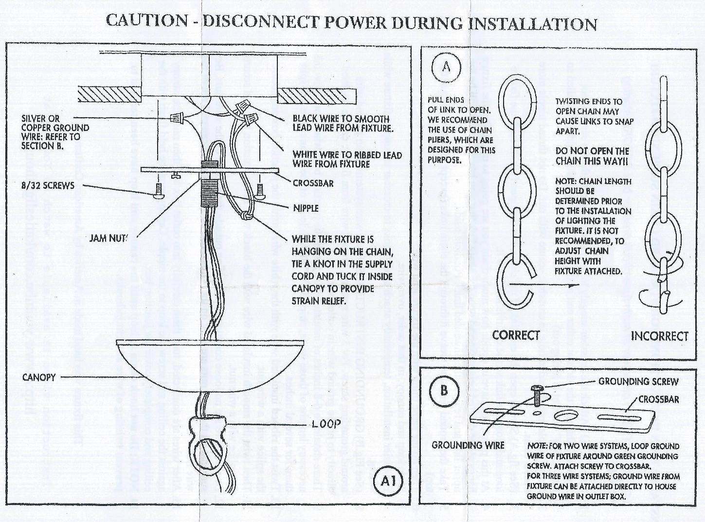 Chandelier step by step installation guide aloadofball Choice Image