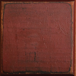 Vintage Creations Color Sample - Distressed Barn Red