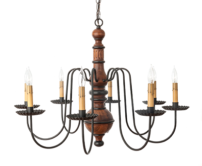 Katie's Hamilton Chandelier In Lighting Resource Guide