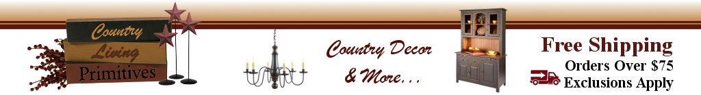 Ebay Country Living Primitives Store Header